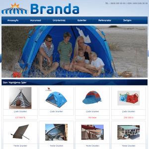 branda web sitesi tasarımı