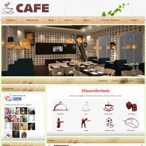 cafe web sitesi tasarımı