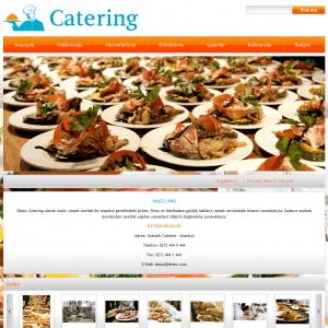 catering web sitesi tasarımı