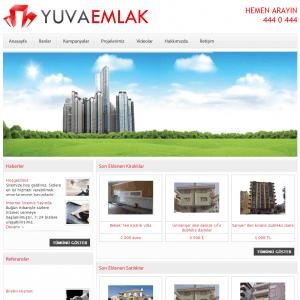 emlak web sitesi tasarımı