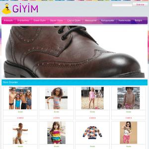 tekstil web sitesi tasarımı