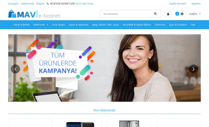 Mavi E-Ticaret